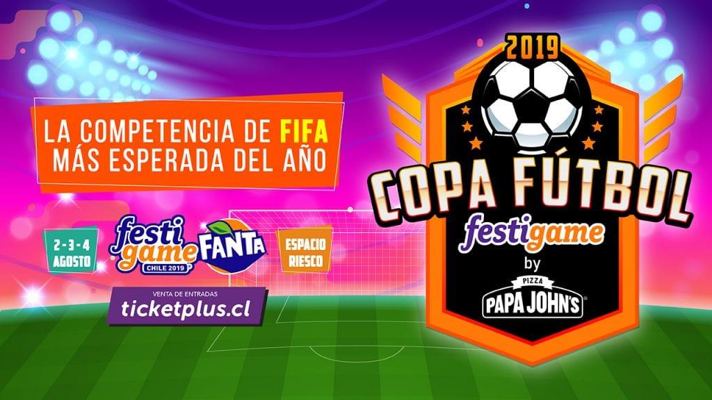 """Comienzan las inscripciones para el campeonato de FIFA más esperado del año """"Copa Fútbol FestiGame by Papa John's"""" 5"""