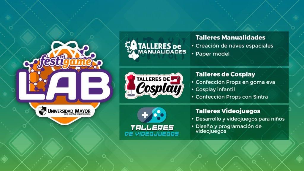 FestiGame Lab presentará distintas charlas y talleres para todos los fanáticos 1