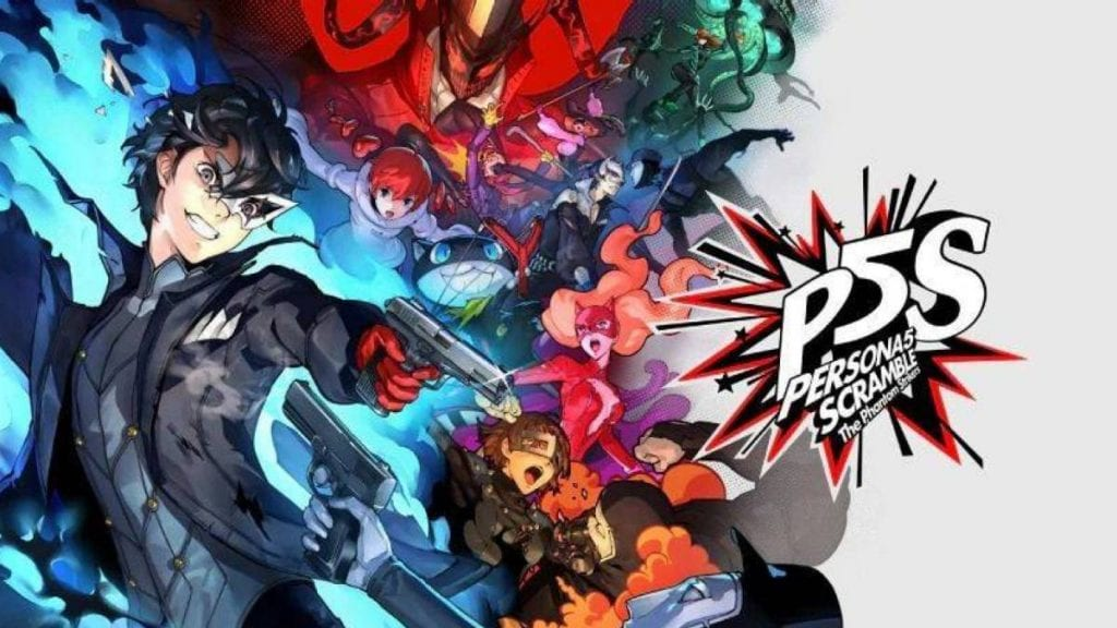¡Confirmado! Persona 5 Scramble: The Phantom Strikers llegará a occidente 2