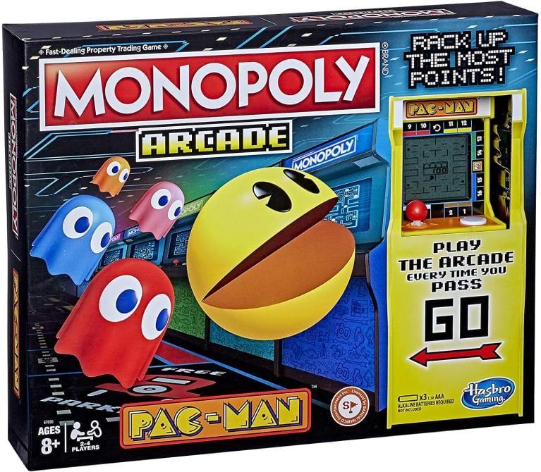 Monopoly lanzará una edición especial de Pac-Man por su 40° aniversario 1