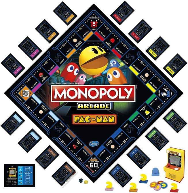 Monopoly lanzará una edición especial de Pac-Man por su 40° aniversario 2
