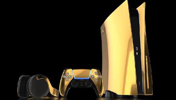 Tienda británica anunció edición limitada de PS5 bañado en oro 5