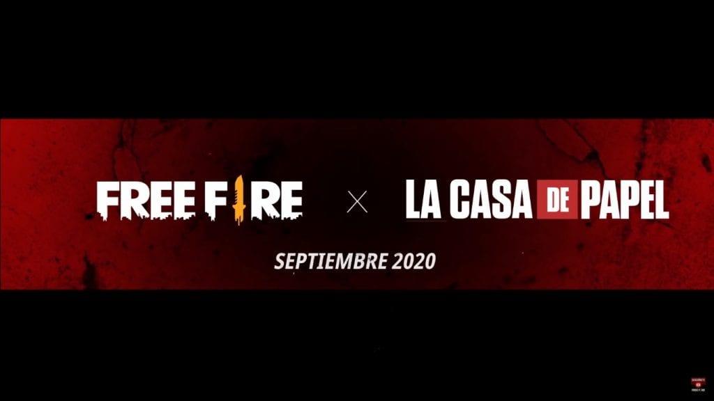 ¡Nuevo evento! Free Fire tendrá colaboración con La Casa de Papel 7