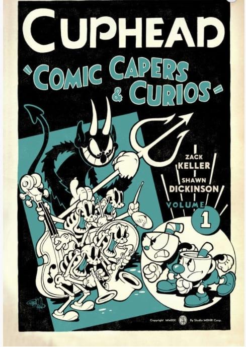 Dark Horse Comics lanzó una novela gráfica de Cuphead 1
