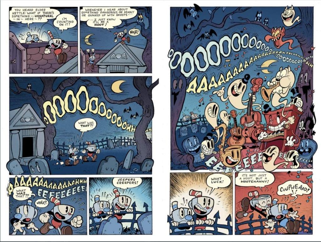 Dark Horse Comics lanzó una novela gráfica de Cuphead 2
