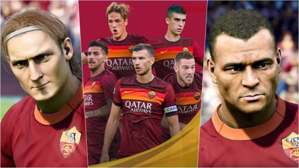 ¡AS Roma llegó a un acuerdo de exclusividad con eFootball Pes 2021! 9