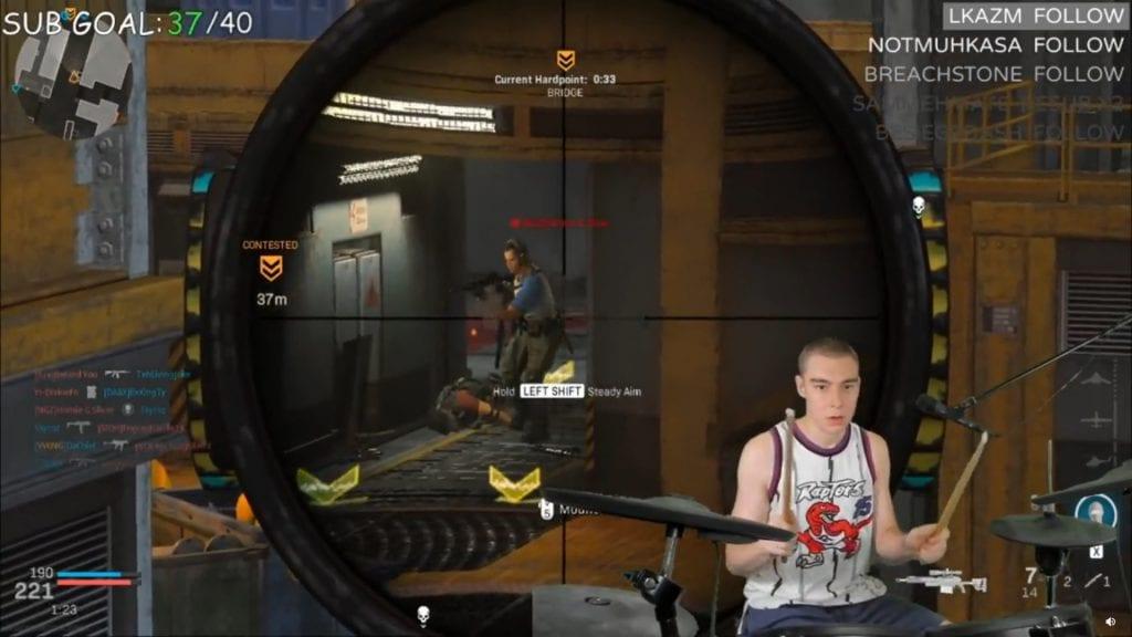 Este jugador logró jugar Call of Duty: Modern Warfare con... ¡Una batería! 10