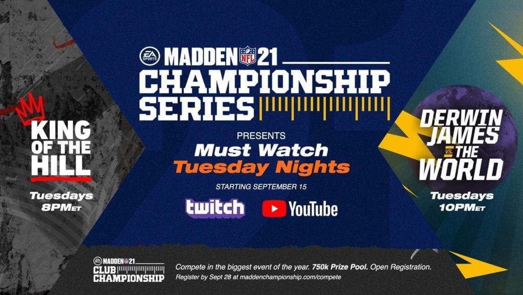 Electronic Arts y la NFL se apoderarán de la noche de los martes 8