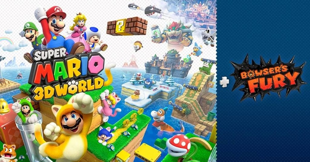 Mira el tráiler de Super Mario 3D World + Bowser's Fury 6