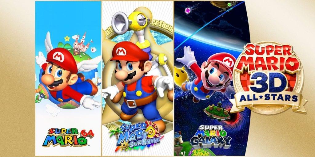 Super Mario 64, Sunshine y Galaxy llegarán a la Nintendo Switch 4