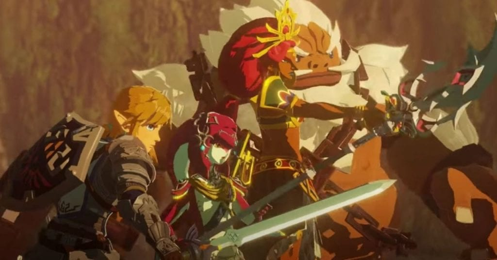 Nintendo liberó un nuevo tráiler de Hyrule Warriors 10