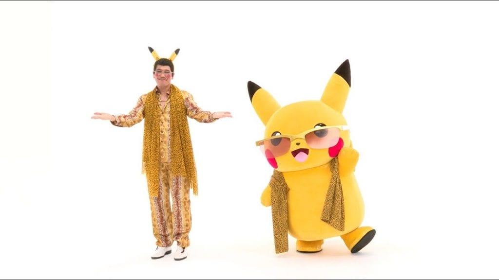 Pikachu participó en un videoclip junto con Pikotaro 3