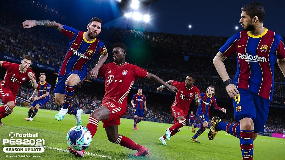 Ya puedes conseguir eFootball PES 2021 Season Update en PS4, Xbox One y PC 1
