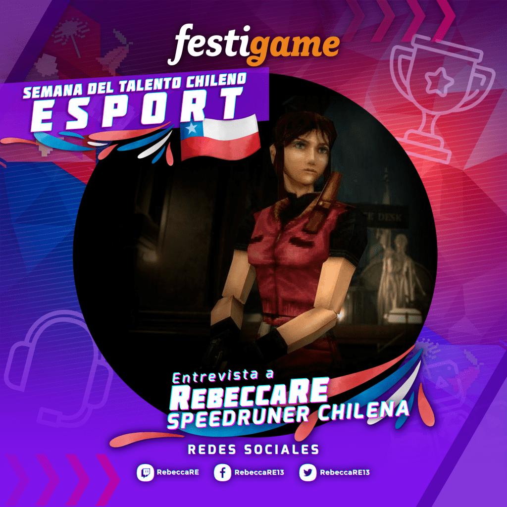 ¡Conversamos con la speedrunner chilena Rebecca RE! 4