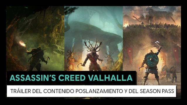 Tráiler de Assassin's Creed Valhalla y sus contenidos post lanzamiento 4