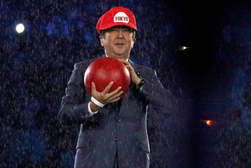 El ex Primer Ministro japonés reconoció que no estaba seguro de ser Mario en Rio 2016 1