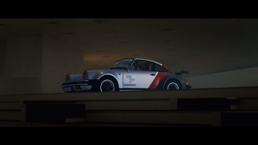 Porsche presentó el modelo de auto que utilizará Keanu Reeves en CyberPunk 2077 1