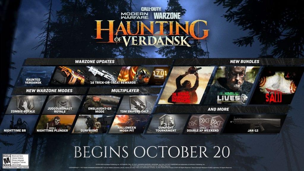 Call of Duty: Warzone recibió contenido exclusivo de Halloween 7