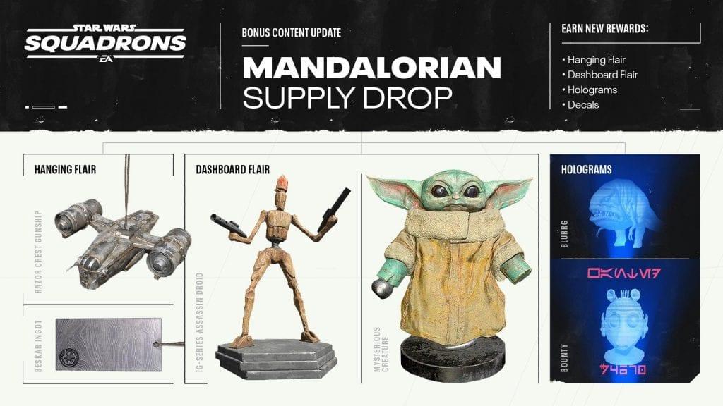 The Mandalorian llegará a Star Wars: Squadrons como contenido descargable 1