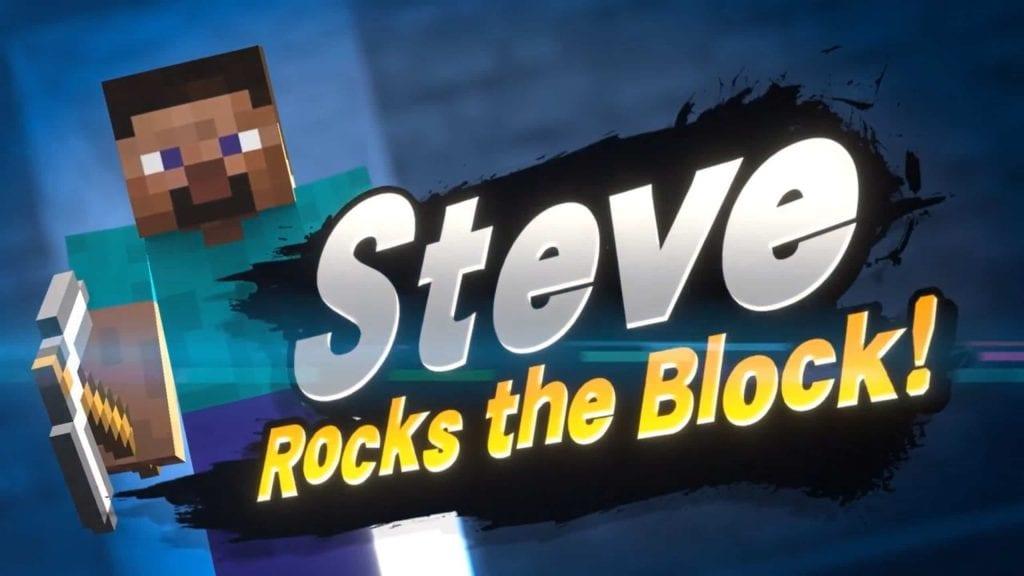 Nintendo modificó la celebración de Steve en Super Smash Bros. Ultimate 10