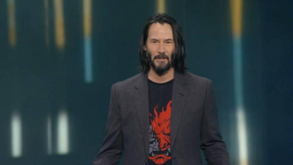 Keanu Reeves ya está jugando CyberPunk 2077 y le habría encantado 5