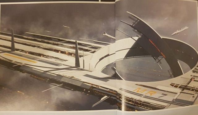 Liberan nuevo arte conceptual del próximo Mass Effect 1
