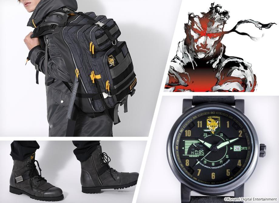 Konami lanzará una colección de accesorios de Metal Gear 8