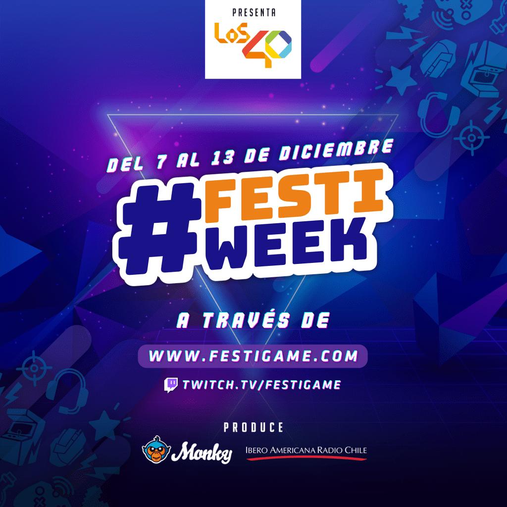 ¡FestiGame vuelve recargado con el #FestiWeek! 2