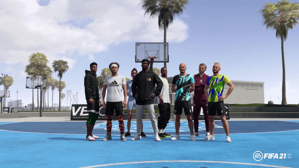 FIFA 21 anunció las nuevas estrellas invitadas que llegarán a Volta 3
