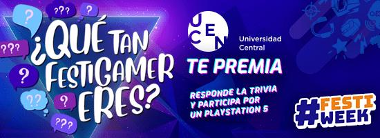 """Bases concurso """"¿Qué tan Festigamer eres? presentado por UCEN"""" 1"""