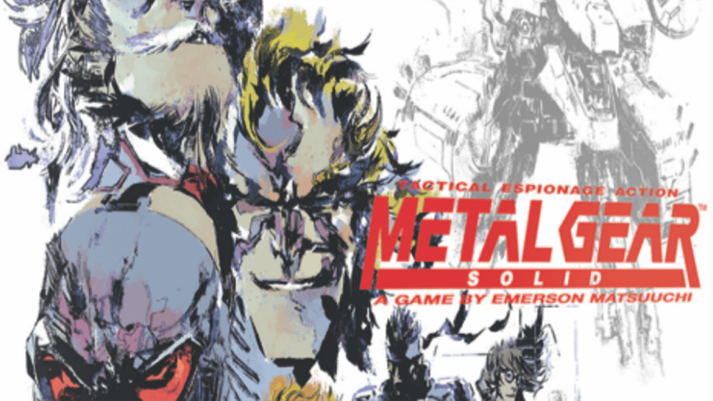 Konami lanzará una colección de accesorios de Metal Gear 10