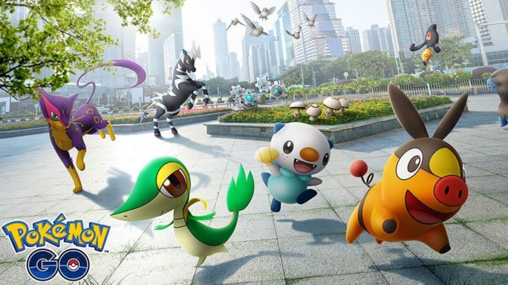 Pokémon GO tendrá un evento en enero que homenajeará a la región de Teselia 1