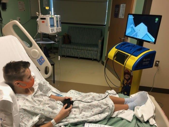 Nintendo lleva a los hospitales sus estaciones de juegos de Switch 7