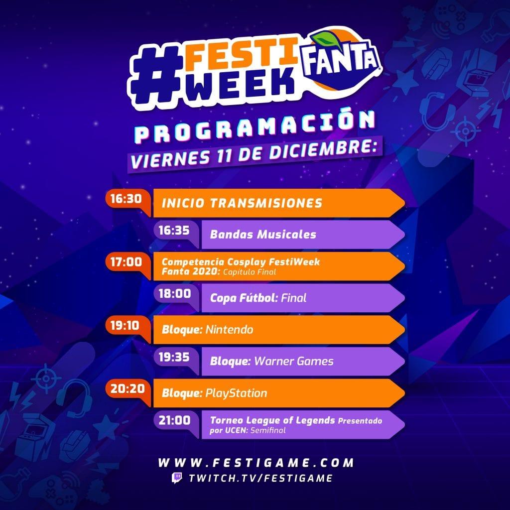 ¡Hoy comienza FestiWeek Fanta 2020! 5