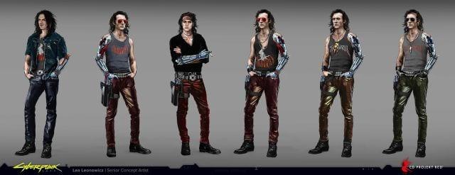 Artista de CD Projekt RED muestra como lucía Johnny Silverhand antes de Keanu Reeves 1