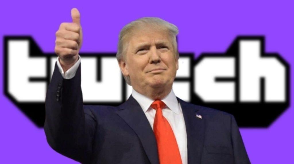 Twitch vuelve a banear la cuenta de Donald Trump; esta vez de manera indefinida 13
