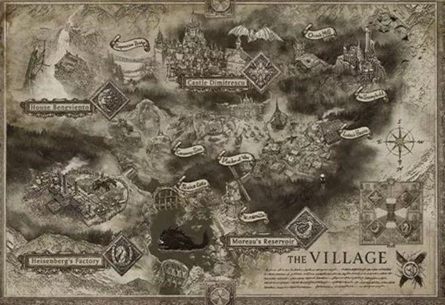 ¡Revisa el mapa completo del nuevo Resident Evil 8 Village! 1