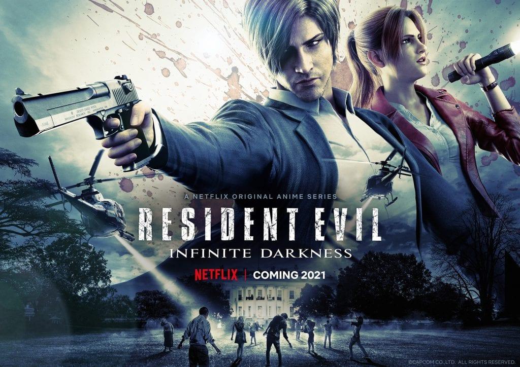 Netflix y Capcom compartieron la trama oficial de la serie CGI de Resident Evil 1