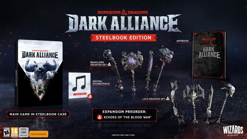Dungeons and Dragons Dark Alliance revela su fecha de lanzamiento con un nuevo tráiler 1