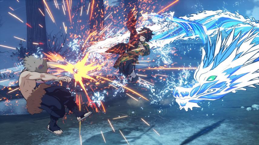 Cyberconnect 2 muestra un nuevo tráiler e imágenes del videojuego de Demon Slayer: Kimetsu no Yaiba 4