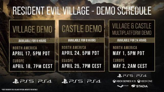 Resident Evil 8 Village confirmó una segunda demo limitada durante el Showcase 1
