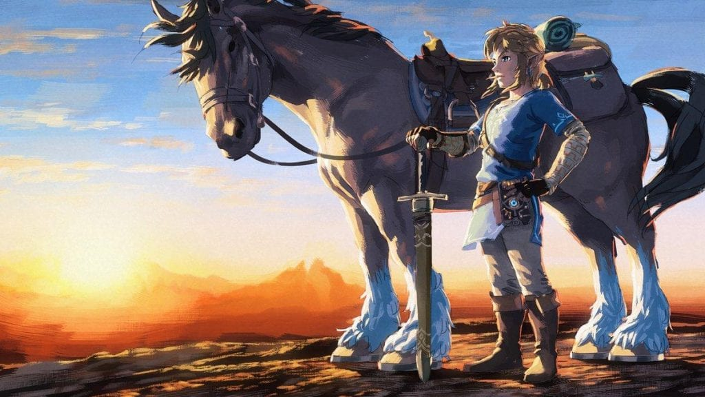 Fan crea un demake de Breath of the Wild como si fuera un juego en Gameboy 4