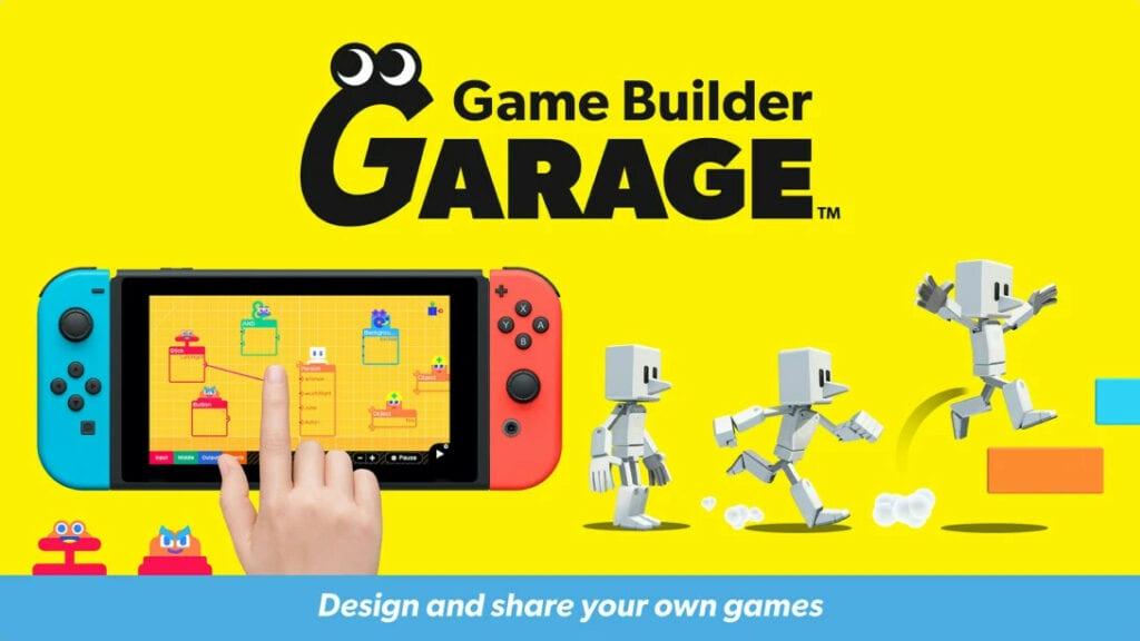 ¿Quieres aprender a programar? Nintendo anunció Game Builder Garage 8