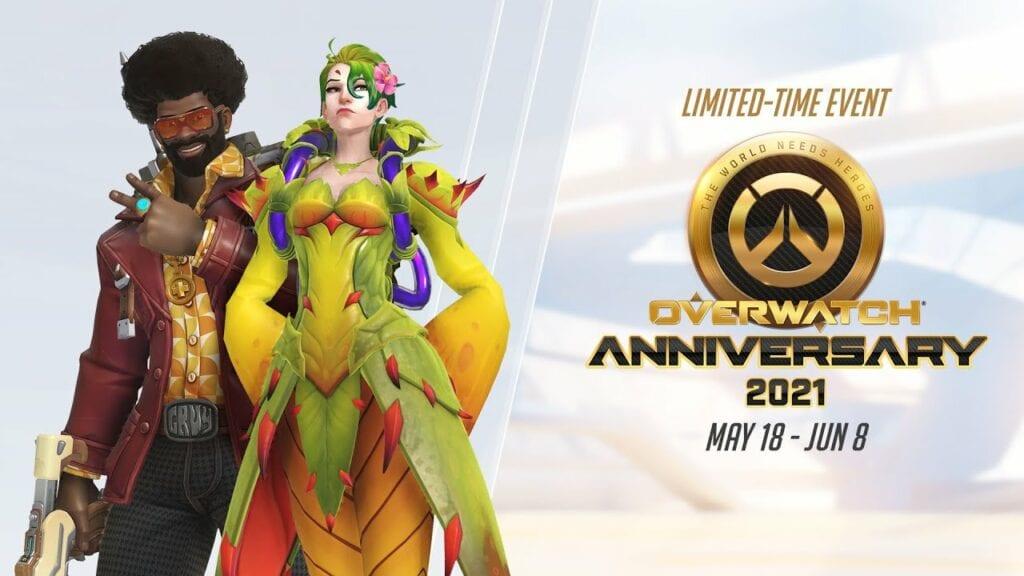 ¡Ya son cinco años! Conoce los eventos de celebración que Overwatch tendrá por su aniversario 5