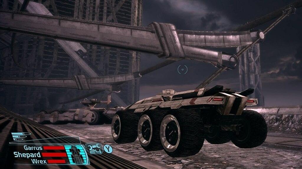 Podrás controlar el Mako en Mass Effect Legendary Edition como en el juego original 4