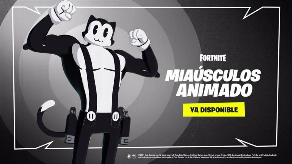 Epic Games reveló el tráiler de Miaúsculos Animado, la nueva skin que llegará a Fortnite 3