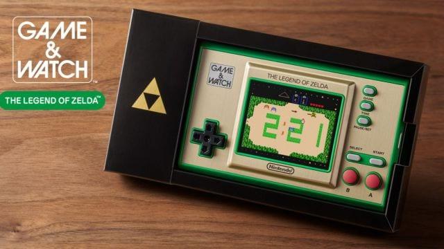 ¡Mira el tráiler del nuevo Game&Watch: The Legend of Zelda! 13