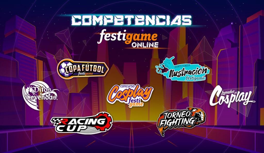 ¡Conoce las competencias que se realizarán durante FestiGame Online 2021! 10