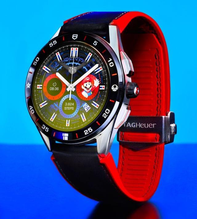 TAG Heuer y Nintendo presentaron el smartwatch oficial de Super Mario 10