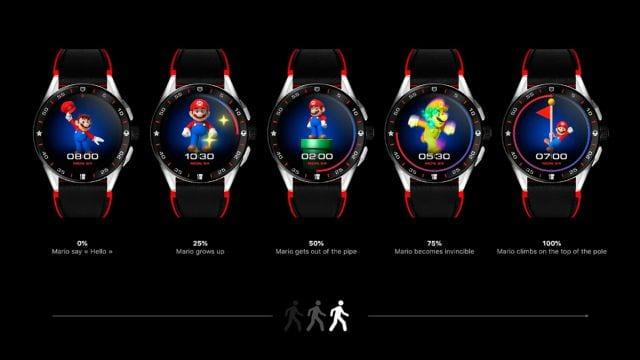 TAG Heuer y Nintendo presentaron el smartwatch oficial de Super Mario 2